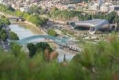 Tiflis'in modern yapıları