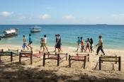 Zanzibar'da Turistler