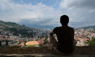 Saraybosna'ya bakış (Bosna-Hersek)